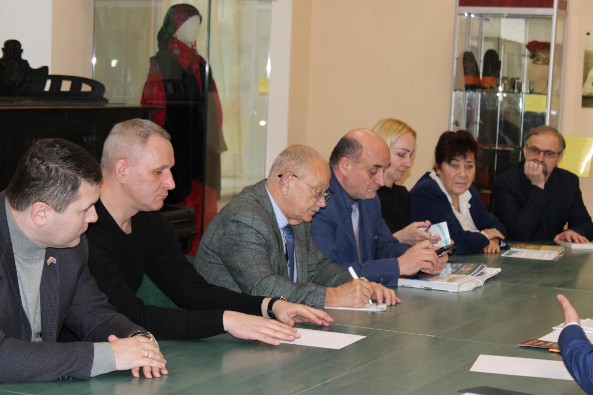 Встреча представителей национально-культурных автономий с делегацией из Королевства Дания