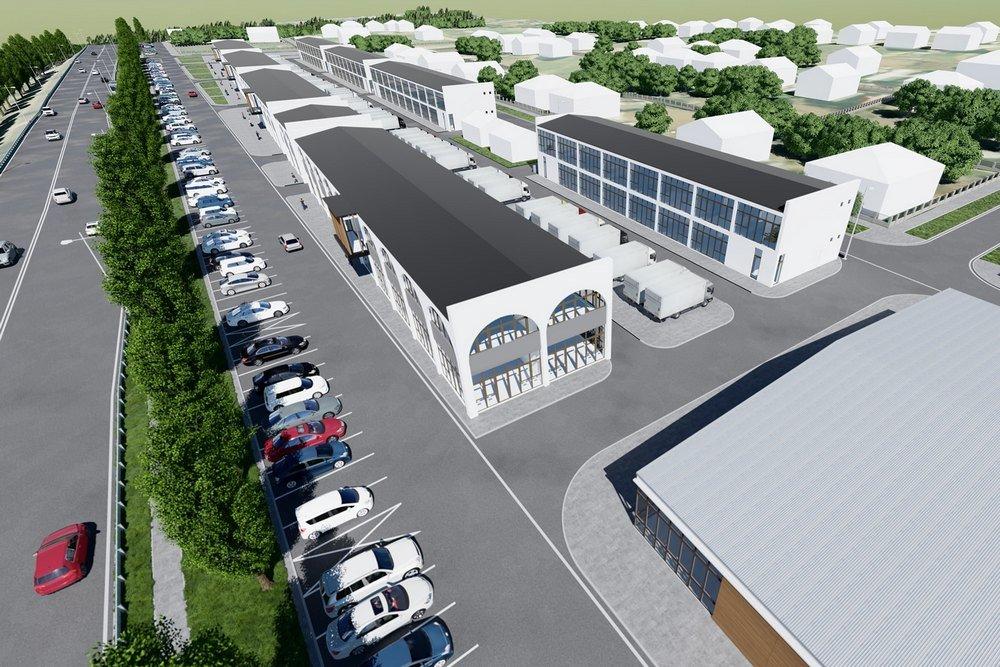 Под Симферополем началось строительство крупнейшего на полуострове рынка